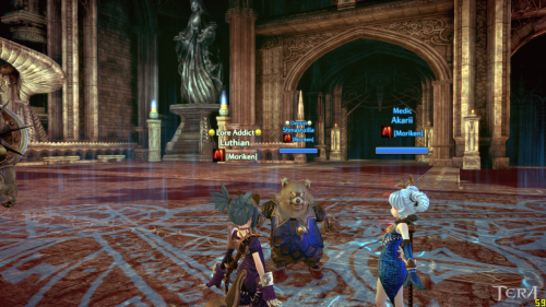 Tera Open Beta is going great! Moriken is filling up and we are looking for Slayers and Archers.  Some of Moriken running SM over and over for those awesome Orange Drops.
