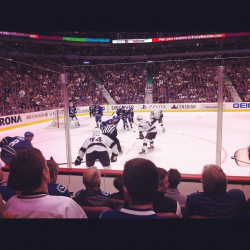 Schneider is da man! #canucks  (Taken with instagram)