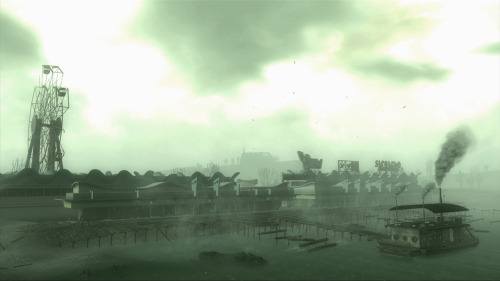 Another one of my favorite DLCs, Point Lookout. I really enjoyed the environment and side quests, and the Pint-Sized Slasher Mask you find in the locked motel room, I wear that all the time