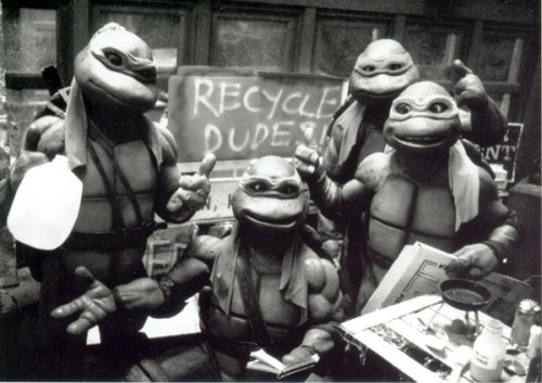 They may be teenage mutants, but they're still responsible ninja turtles!