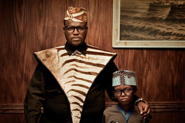 37thstate:  African father and Son.  Jabulani Tsambo & his son.   do not spare that click on the pic