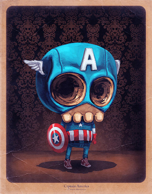 just-skulls:    by Mike Mitchell