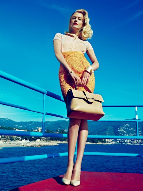 Sasha Melnychuk by Andoni & Arantxa for Elegance Netherlands May 2012 http://bit.ly/JnfgkT