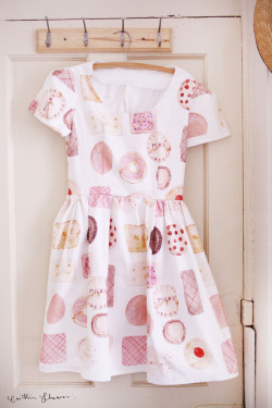 The Biscuits dress! I think this one is my favourite. Satisfies my sweet tooth. Another dress handmade from the textiles i designed. :)  click here to visit my online shop to purchase a handmade dress!