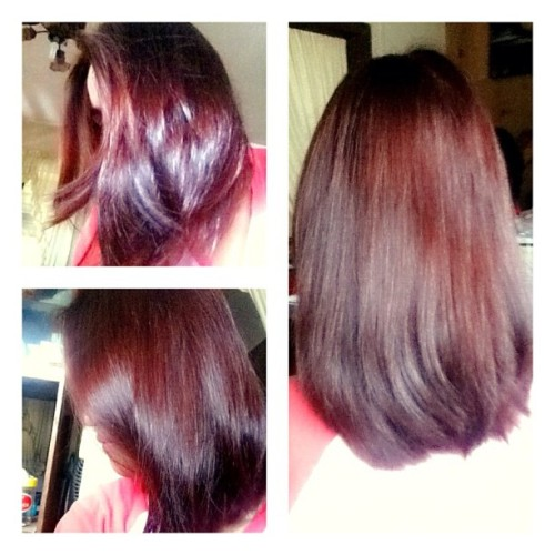 Red head #photoaday #photoaday #igersmanila #vain #haircolor #redhead #haircolor (Taken with instagram)