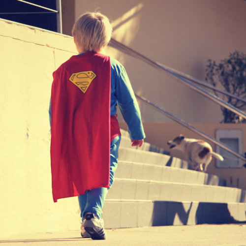 superman by ~gematrium - This is just too adorable!!!