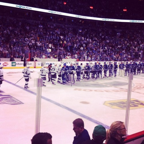Boo!  :(  #canucks  (Taken with instagram)