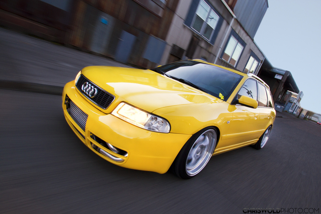 Audi A4 Avant - Coolest School Bus Around