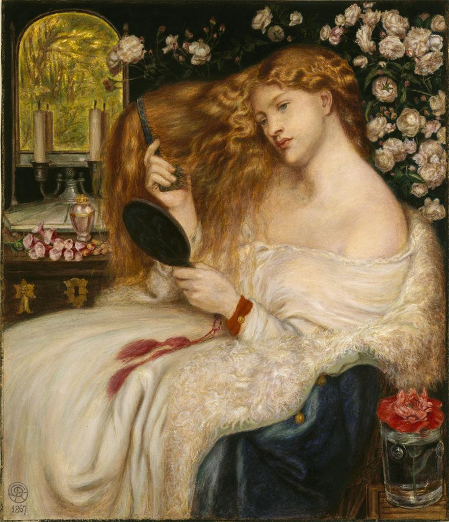 Lady Lilith, 1867Dante Rossetti   kelseycantimewarp answered your question: Dante Rossetti