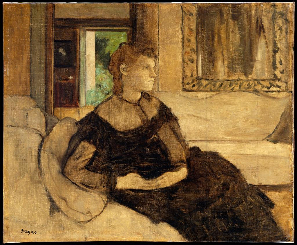 Madame Theodore Gobillard, 1869Degas  answered your question: Degastimeisjustamelody-