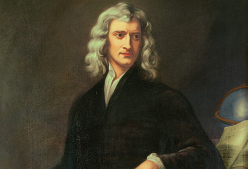 quantumaniac:  Isaac Newton Fun Facts  Isaac Newton (1642-1727) was without a doubt one of the most important scientists of all time, if not the most important. Here are some fun facts about ol' Ike:  Newton became a professor of mathematics at only 26. Newton practiced Alchemy.  Newton was elected as a member of parliment. His membership lasted only a year. Newton earned the title of Warden of the Royal Mint. Newton oversaw the recoinage of the whole country. Newton was knighted because of his political activites. He was named after his father who died three months before Isaac was born. Isaac was born early. He was so small he could have put him in a quart jug. Isaac's father could hardly write his name. Isaac was one of the worst in his class until a bully at school kicked him. Isaac challenged him to a fight even though he was smaller. He won. That wasn't enough for him, he decided to be better than the bully at school as well. Isaac liked to draw, his room was even colored on the ceilings and walls. Newton was born on Christmas.