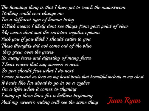 Juan Ryan - This Is Me