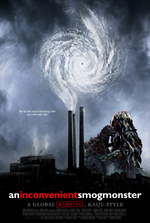 So, I watched Godzilla vs. the Smog Monster in celebration of Earth Day today.