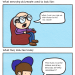 "lostbetweenthepages:   ryanselvy:    #149 ""Old People""    HA HA HA ! It's so true! I'm a old person too and I totally agree with this."