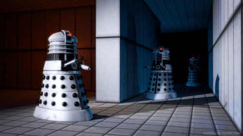 Aperture Daleks Wallpaper.