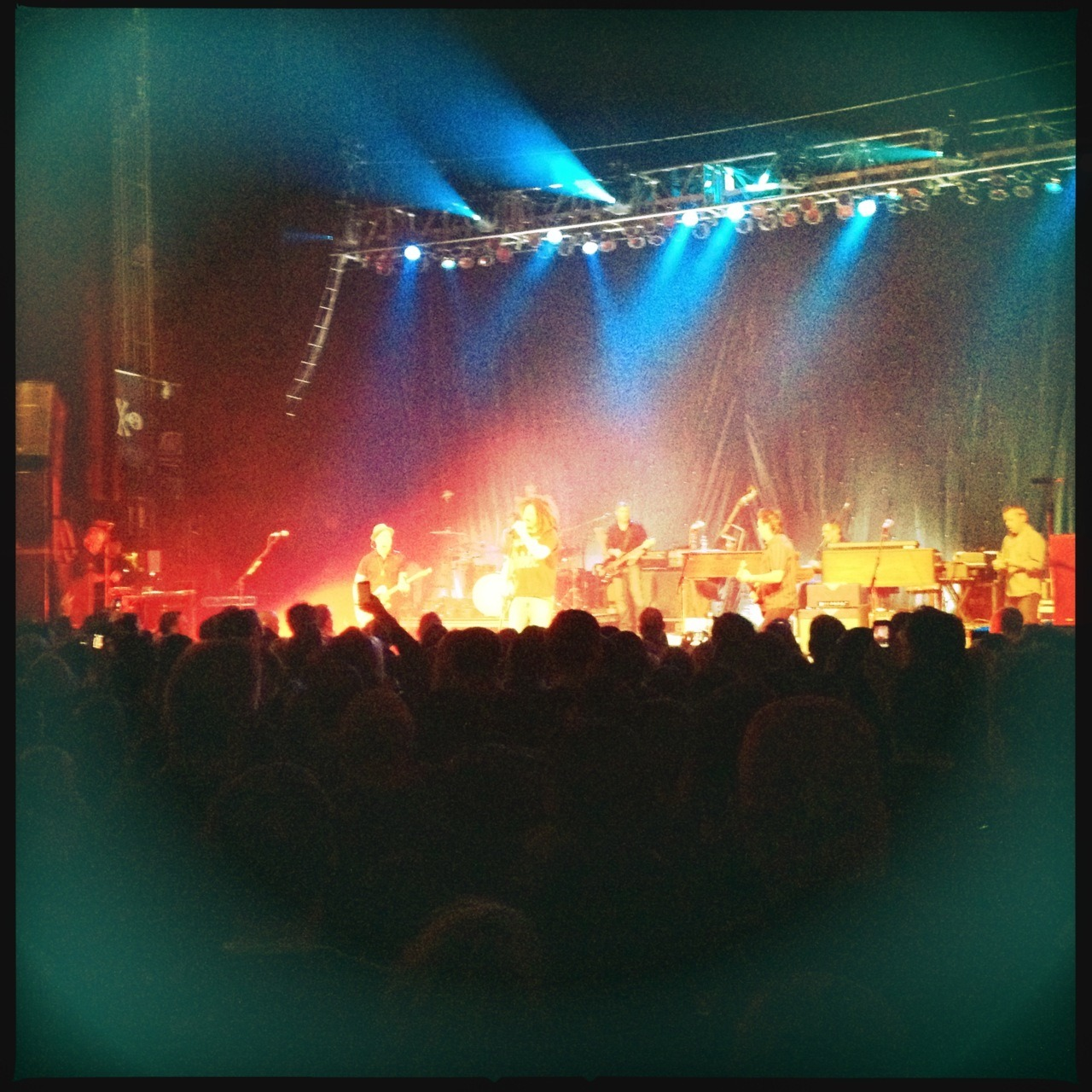 #CountingCrows Jimmy Lens, DC Film, No Flash, Taken with Hipstamatic