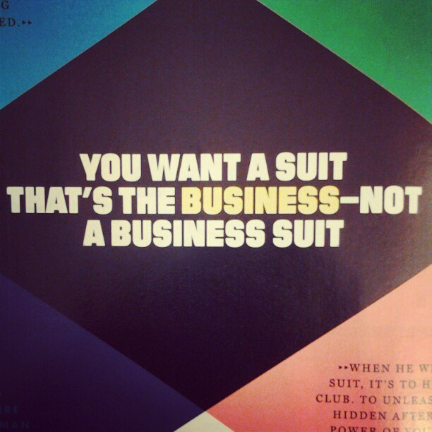 #gq #suits #quote #fashion