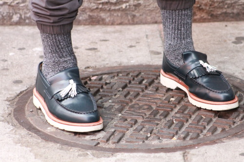 nyesq:  J. Bridges @TuckedStyle showing some @DrMartens love.