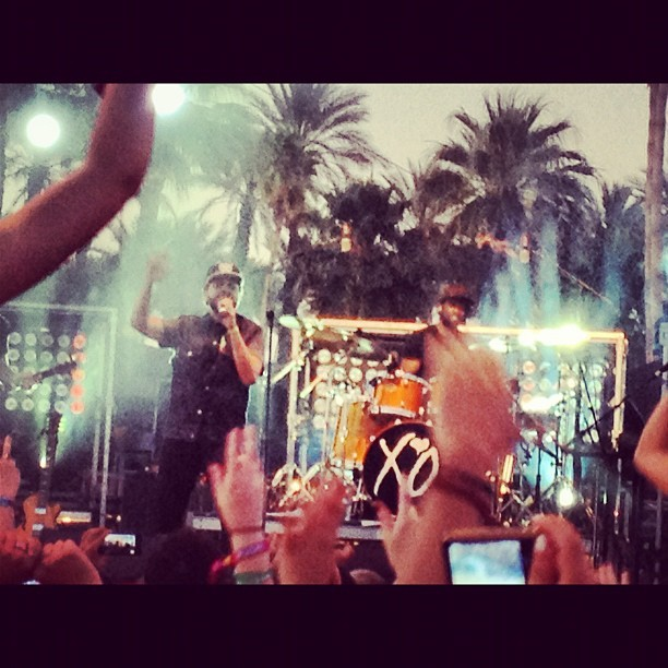 The Weeknd #coachella2012 (Taken with Instagram at Coachella Outdoor Theatre)