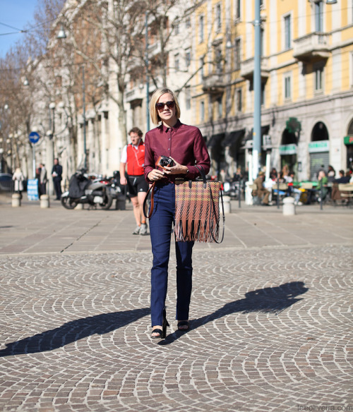 missmossblog:  (via Kate Harrowsmith…Piazza Sempione, Milan | LEE OLIVEIRA)