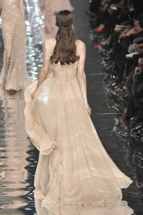 Elie Saab Spring 2010 couture I love it<3 Wish I could see the front side!