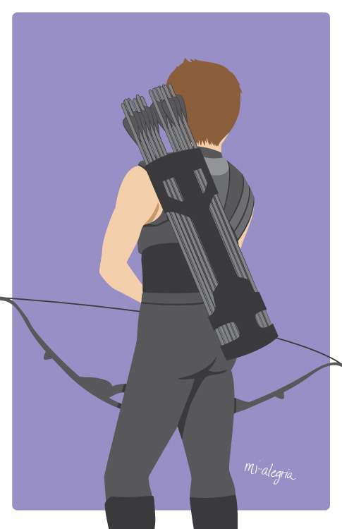 Finally finished Clint :D Not too happy with this but I'm gonna move on.
