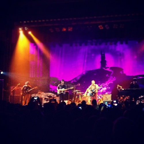 Port of Morrow tour #theshins #santacruz (Taken with instagram)