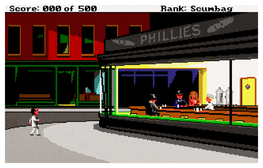 castle:  Just Another Sleazy Joint, Leisure Suit Larry + Edward Hopper      (via TumbleOn)