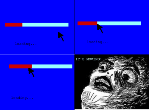 "rage-comics-blog:  It's moving!! ""SO I'M NOT THE ONLY ONE THAT DOES THIS!!!"""