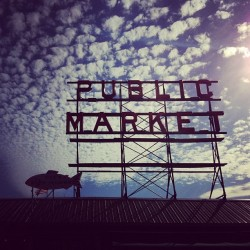 #pikeplace #seattle #clubsocial #ignation #ig #market #sunday #summer #washington #pike #todaywasawesome #clouds #cloudporn (Taken with Instagram at Pike Place Market)