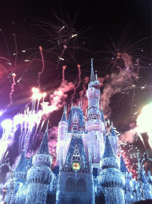Imagine staying In that castle as the fire works go off