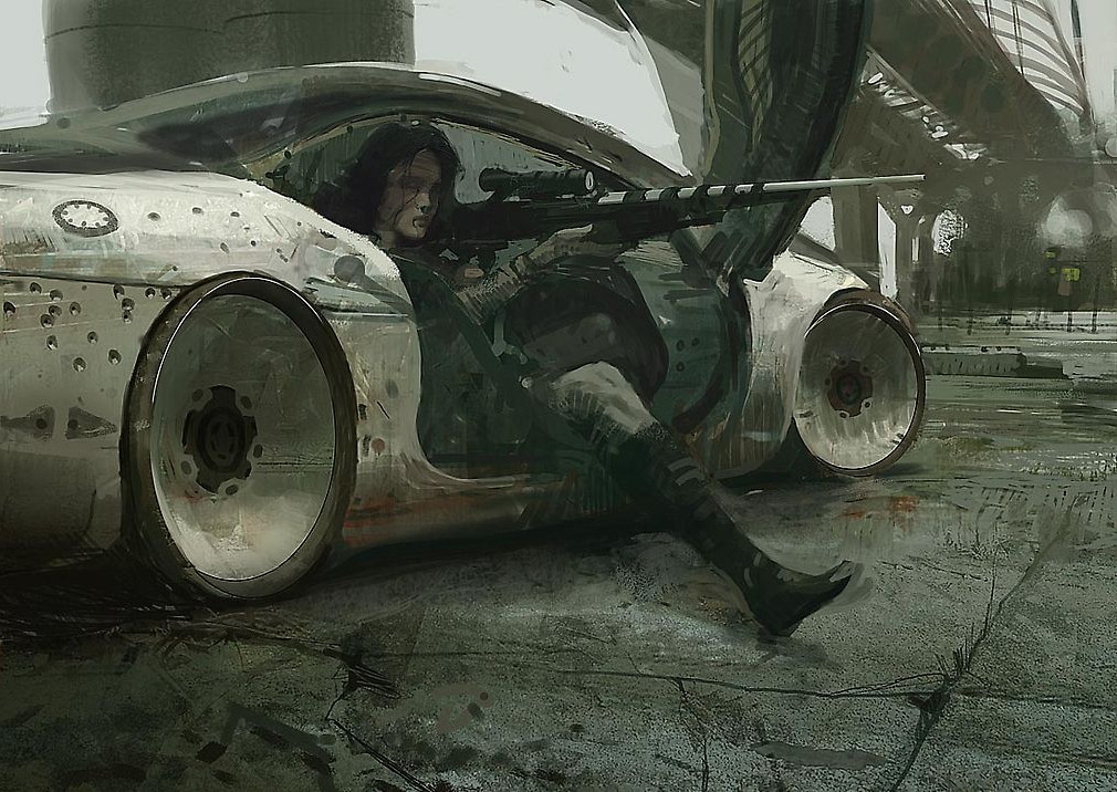 Digital paintings by Craig Mullins.