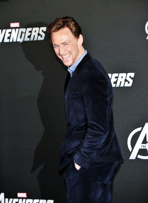 Mr. Hiddles The Avengers Photocall in Berlin {MyEdit}