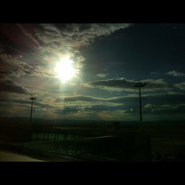Sun (Taken with Instagram at Ankara Esenboğa Havalimanı)