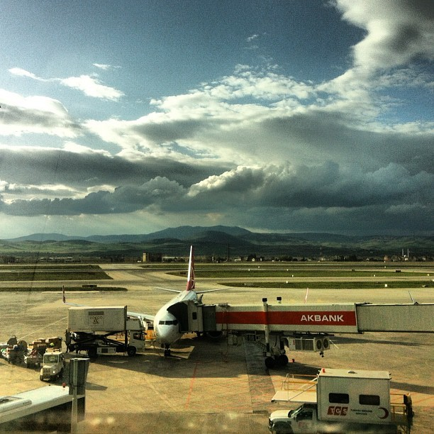 ✈ (Taken with Instagram at Ankara Esenboğa Havalimanı)