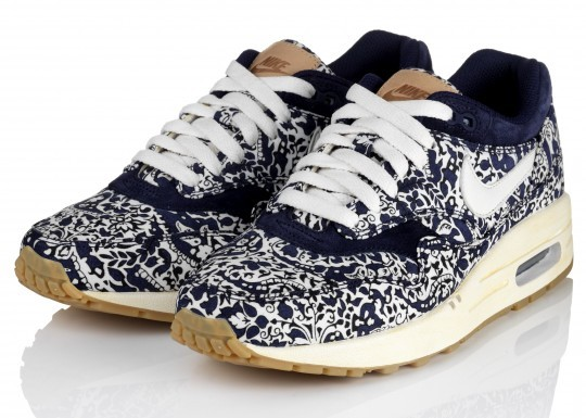 Shoes: Air Max 1 Liberty of London print