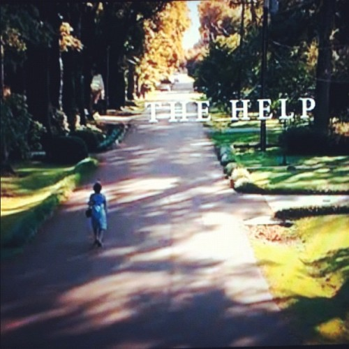 You is kind, You is smart, You is important #TheHelp (Taken with instagram)