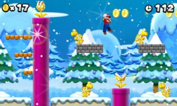 "Nintendo has announced New Super Mario Bros. 2! ~  New Super Mario Bros. 2 is described as a ""new, yet traditional"" side-scrolling Mario game featuring Mario, Luigi and lots of other favourite characters from the Mario universe.  Just like Super Mario 3D Land, released last year on the Nintendo 3DS, the game is supposedly designed specifically for easy, ""Pick up and play"" style gameplay, ensuring that it's roots are still intact and keeping the challenge to a minimum for younger (Or older) gamers.  If Super Mario 3D Land or even the prequels New Super Mario Bros. and New Super Mario Bros. Wii are anything to go by, the game is sure to be a well made and well polished Mario experience. What this could mean for older players is not certain.. will it be challenging enough and long enough to keep the ""Hardcore"" gamer playing? Will it feature anything new such as powerups, themes, enemies or even game modes? I'm sure we'll find out when E3 finally arrives…  New Super Mario Bros. 2 is set to arrive some time in August, for the Nintendo 3DS system. Look forward to it!"