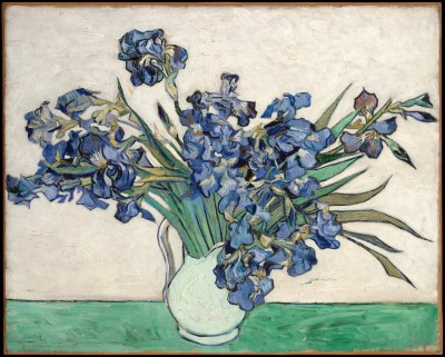 fckyeaharthistory:  Vincent van Gogh - Irises, 1890. Oil on canvas