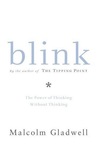 """It's a book about rapid cognition, about the kind of thinking that happens in a blink of an eye. When you meet someone for the first time, or walk into a house you are thinking of buying, or read the first few sentences of a book, your mind takes about two seconds to jump to a series of conclusions. Well, ""Blink"" is a book about those two seconds, because I think those instant conclusions that we reach are really powerful and really important and, occasionally, really good."" -Malcolm Gladwell"