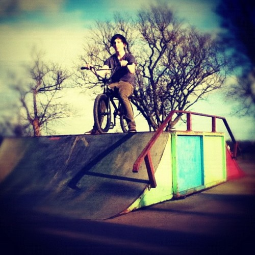 L33t bmx pr0tag (Taken with instagram)