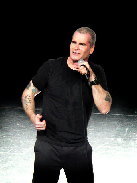 Henry Rollins - The Long March @ The National Theatre on Flickr.The wonderfully intelligent & articulate Henry Rollins
