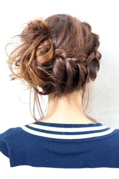 I love this hairstyle and want to try it with my hair!! :)
