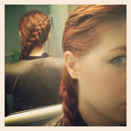Channeling Katniss today  (Taken with instagram)
