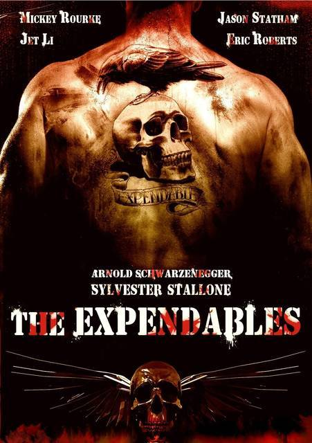 20 Sexiest Movie Posters 10. I Mercenari - The Expendables (USA · 2010) - The Expendables (via Poster 'The Expendables Poster Usa' @ ScreenWEEK)