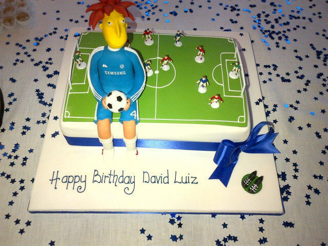 Yesterday was Sideshow Bob's David Luiz's birthday.