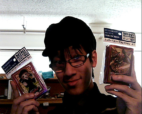 Blue Ox just got in some new Cardfight!! Vanguard Sleeves! They are teh sickeeeeeeest~