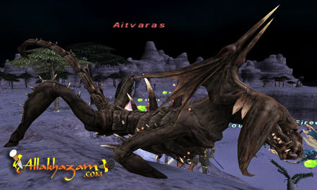 Aitvaras, as seen in Final Fantasy XI.  It seems to be in its dragon form.