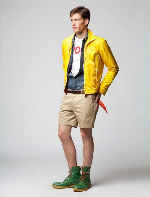 "eyegasmgalore:  Florian van Bael for Dsquared2 2012 Resort  Looking at this picture should make you more uncomfortable than having to sit in HR and endure questions as to why the terms ""Asian pre-teen"" and ""bukkake"" appear together in your Google search history."