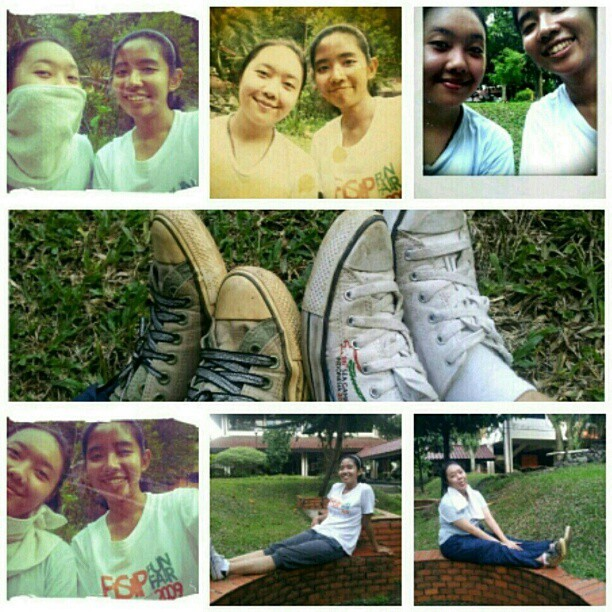 """yeyek"" girls go jogging! #friendship #bestfriend #froyolava  (Taken with instagram)"